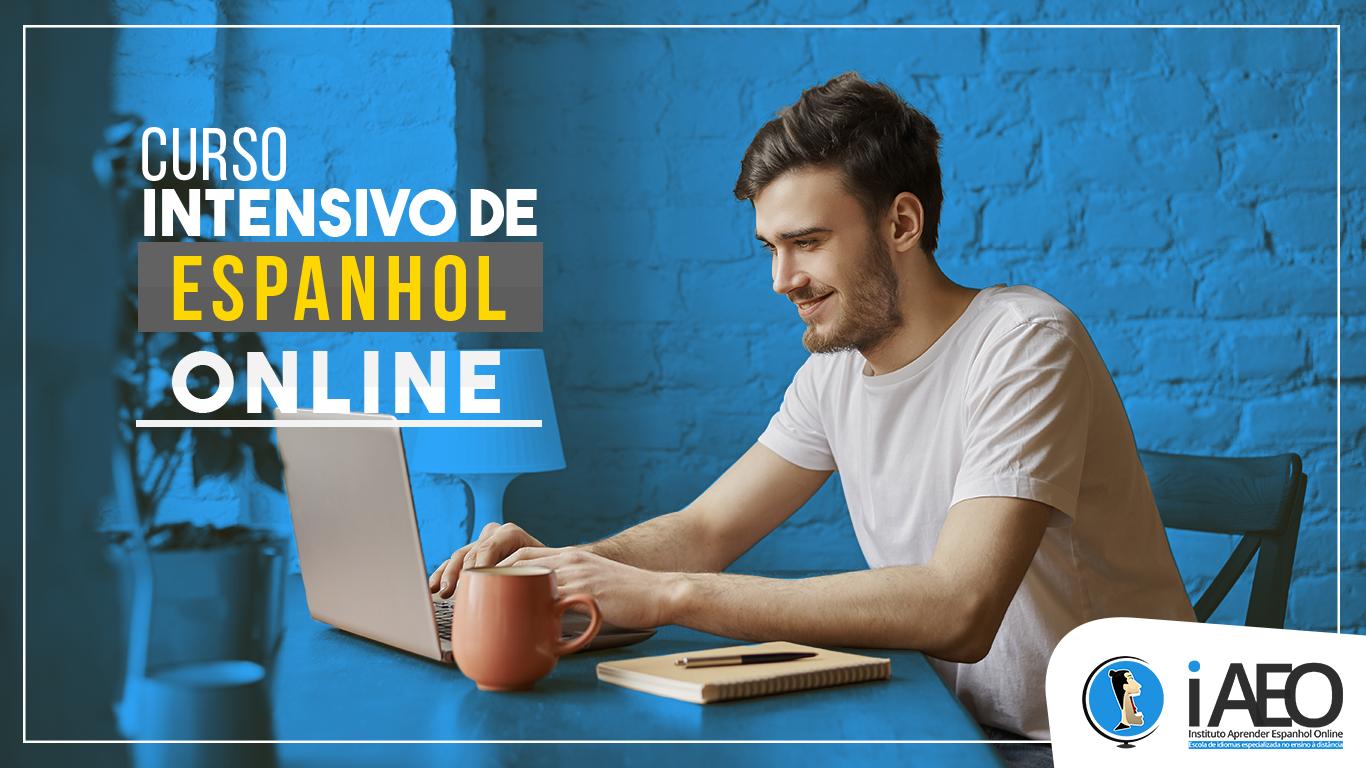 Curso intensivo de Espanhol online com professores nativos